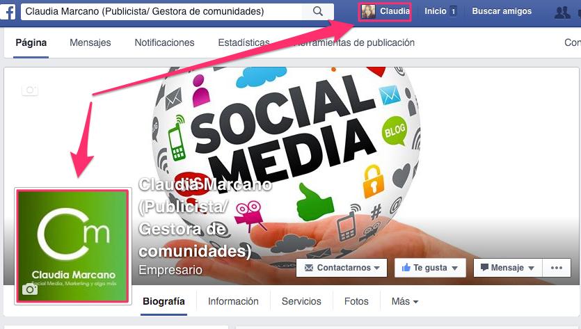 Página Empresa Facebook