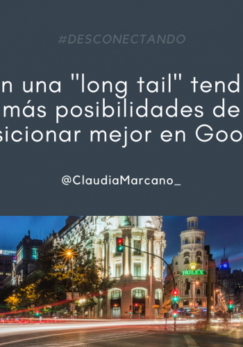 Utiliza las long tail