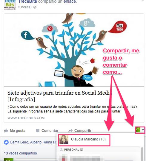 Facebook noticias